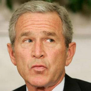 George Bush Facial Expression